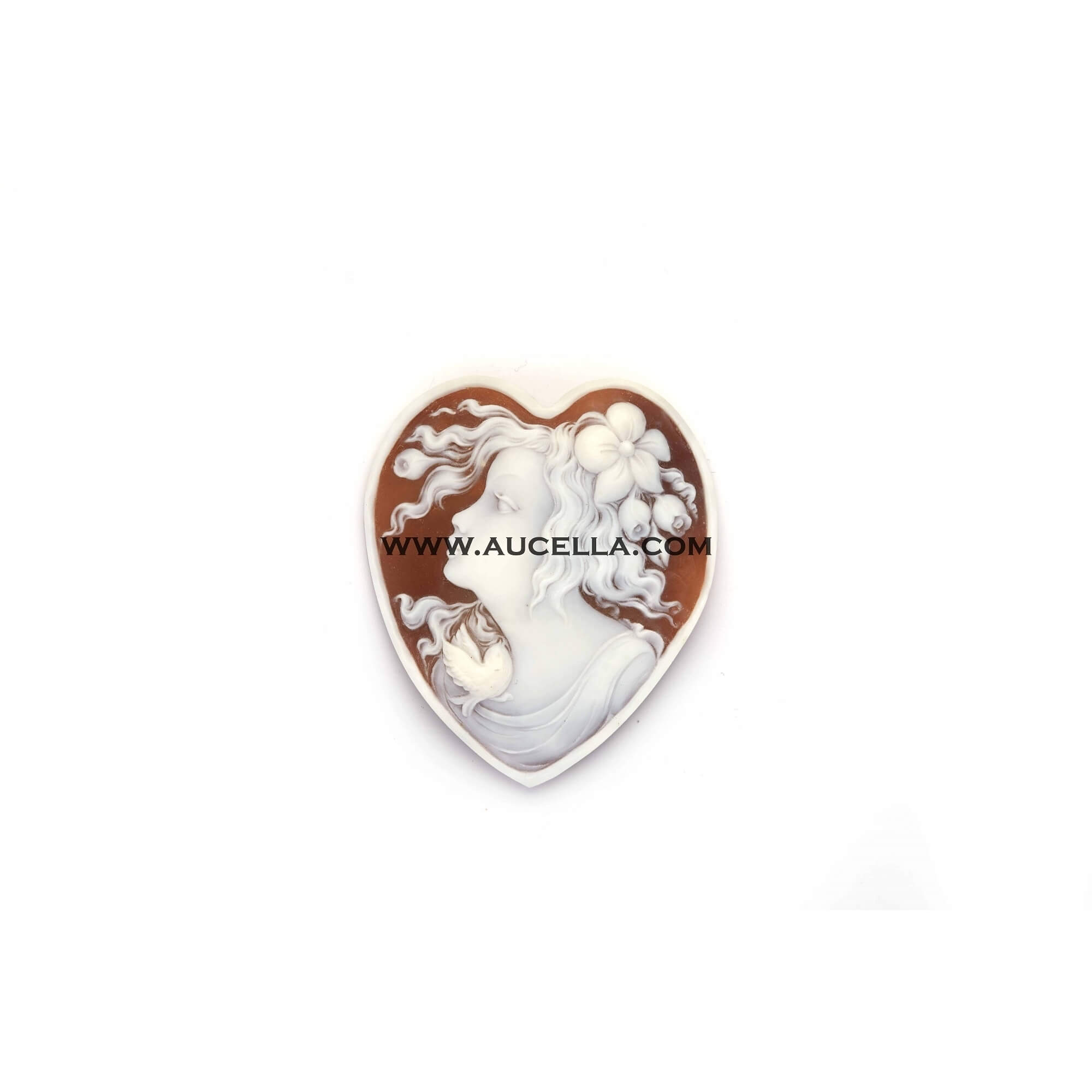 Sorrentino Cameo heart shape