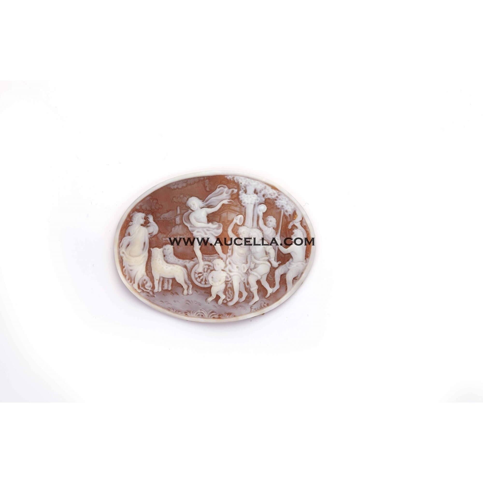 Sardonix antique cameo