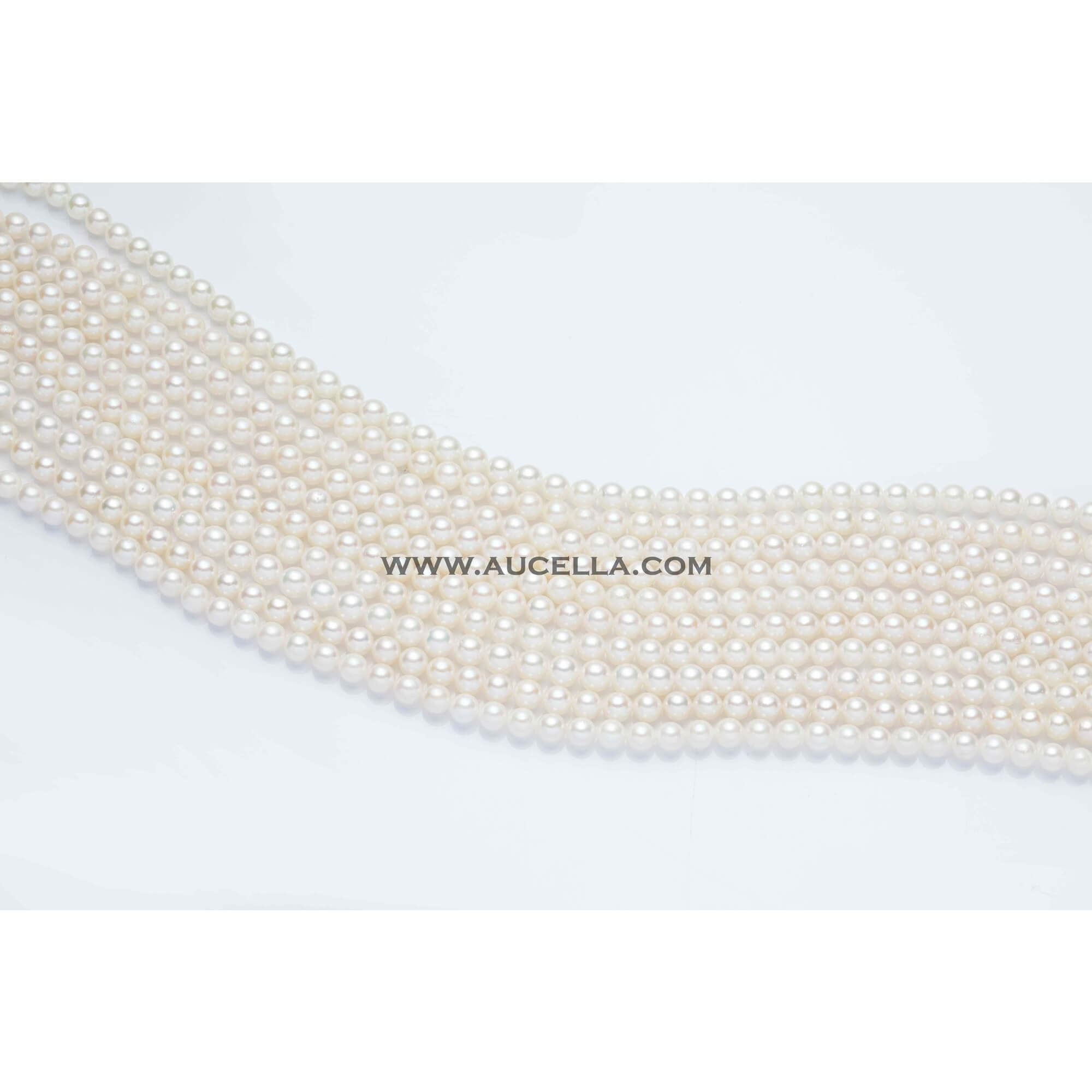 Japan akoya pearls, size 5 - 5,5 mm