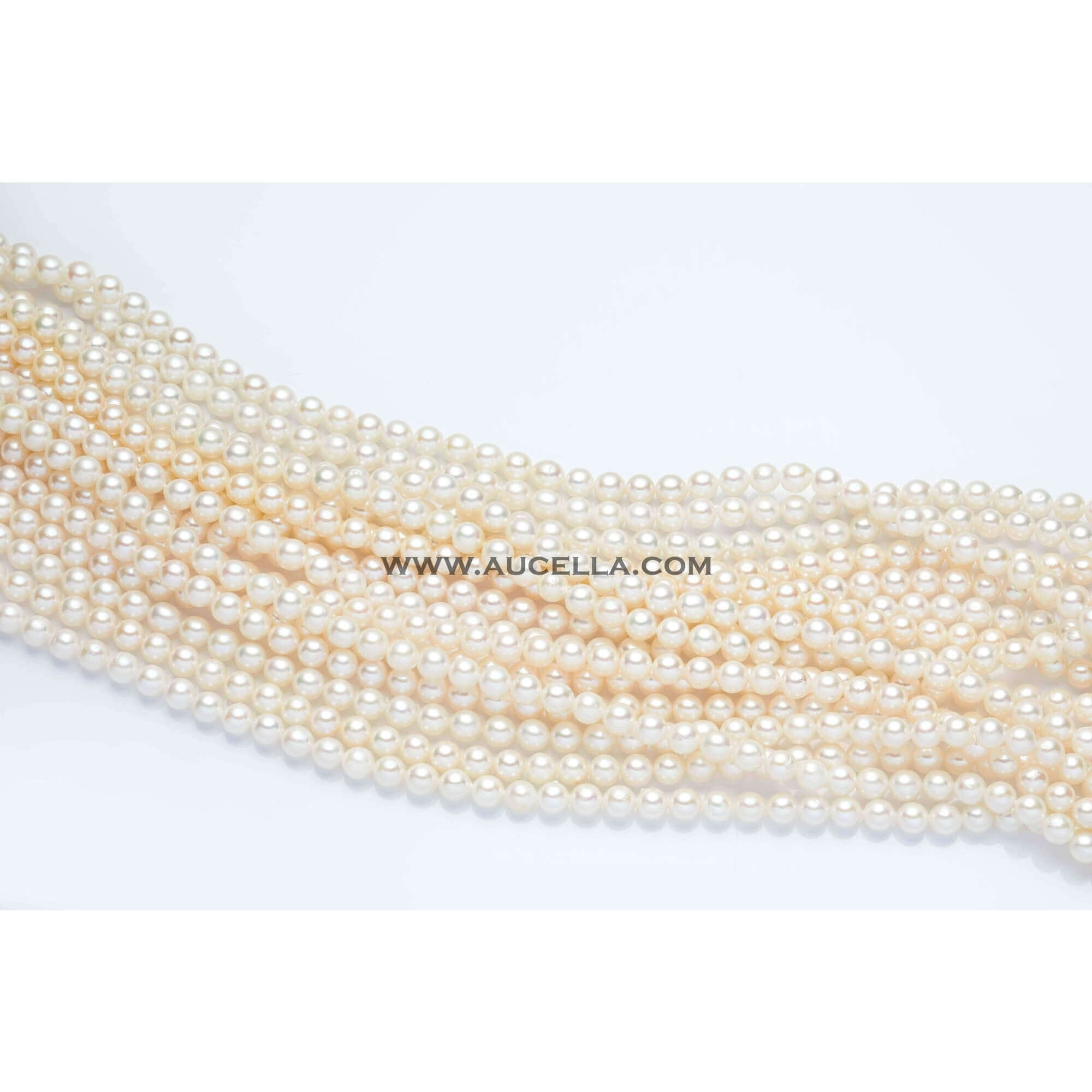 Japan akoya pearls, size 6 - 6,5 mm
