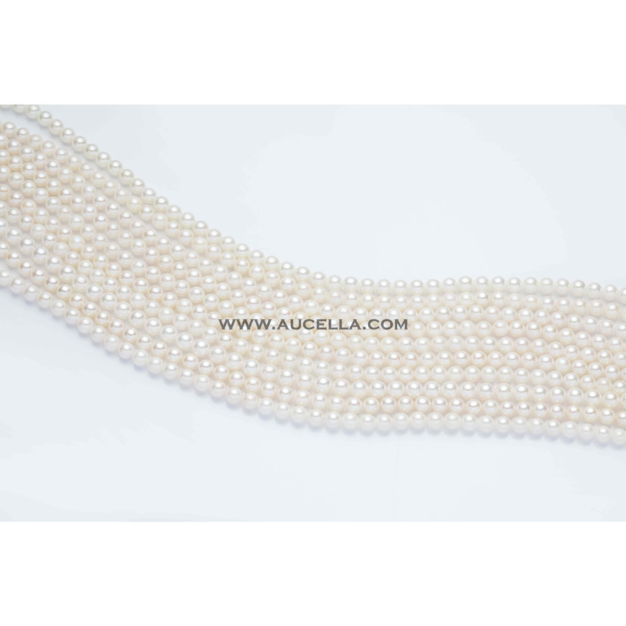 Japan akoya pearls strands mm 6x5,5 A