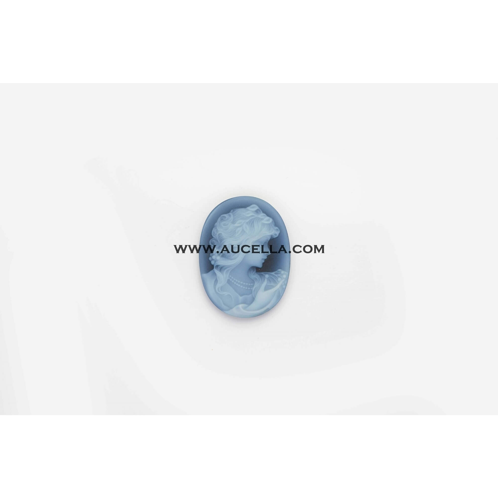 Agate cameo 40 mm