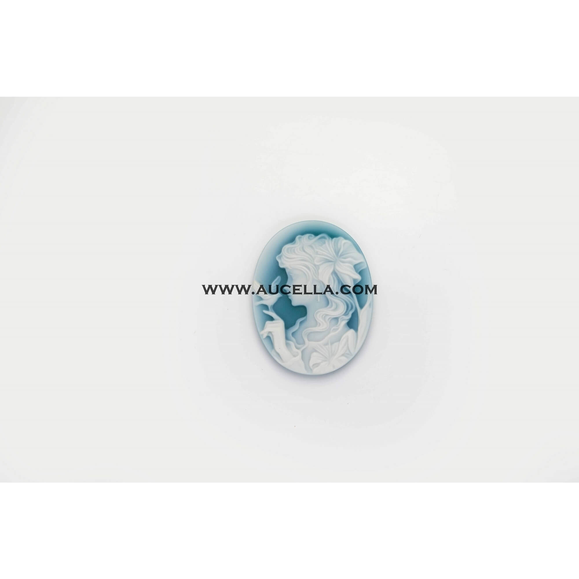 Agate cameo 45 mm