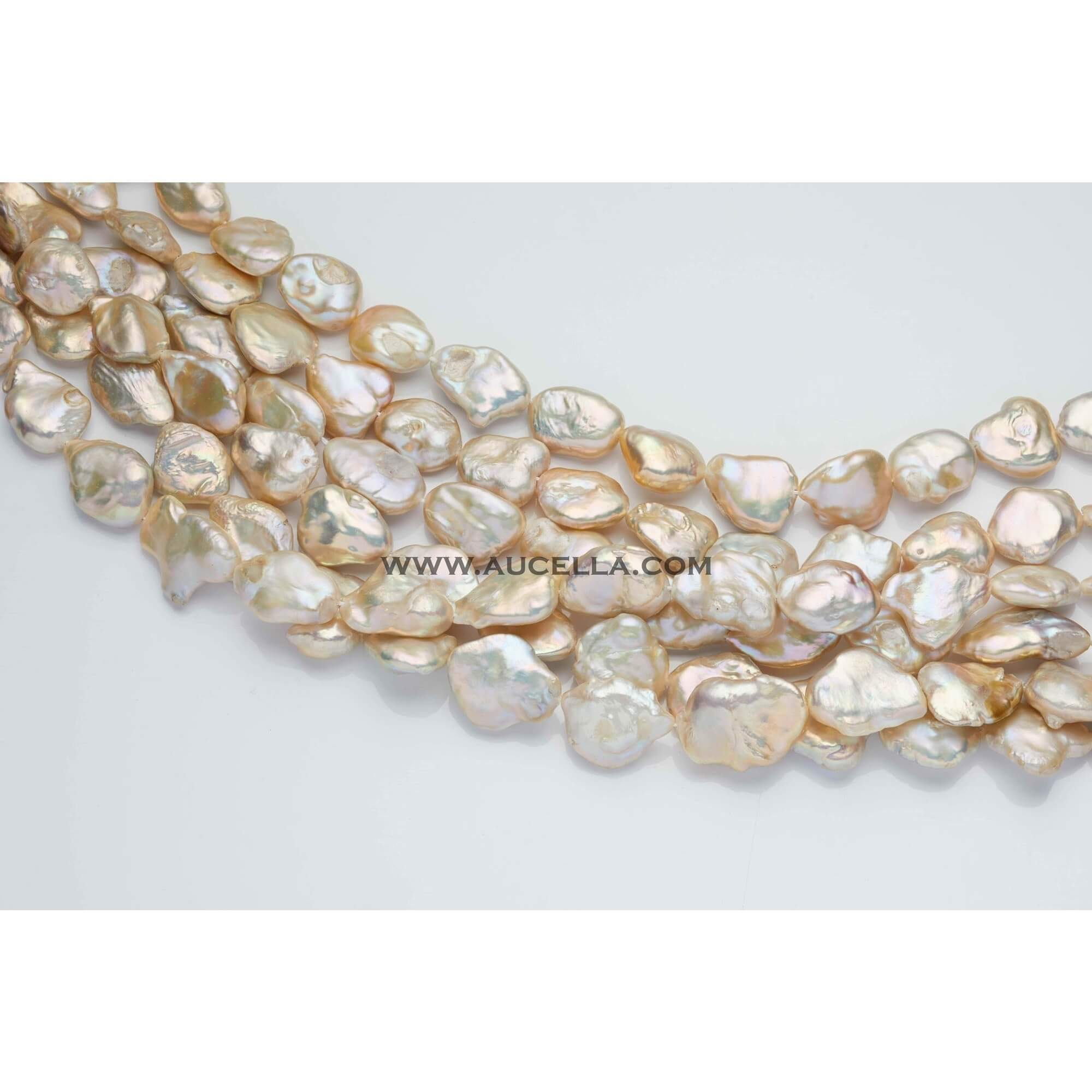 Fresh water pearls baroque