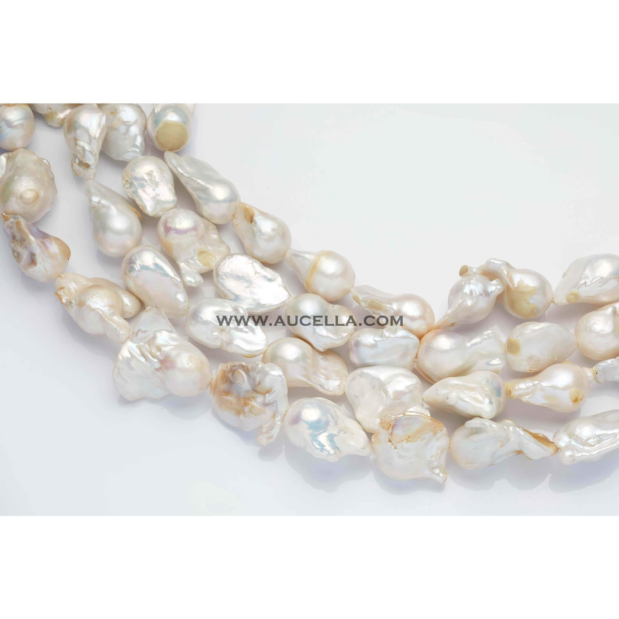Fresh water pearls baroque 12-15 mm