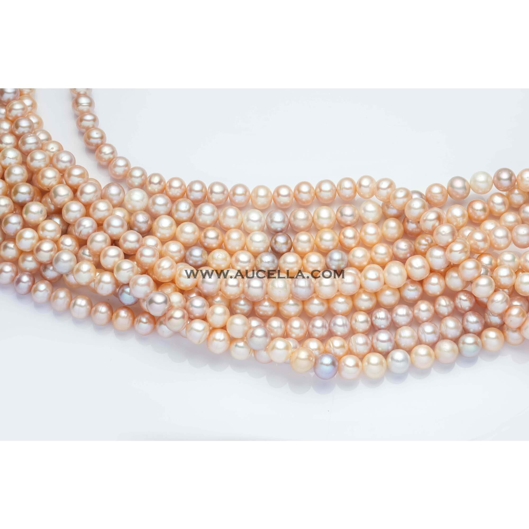 Fresh water pearls beads shape mm 8