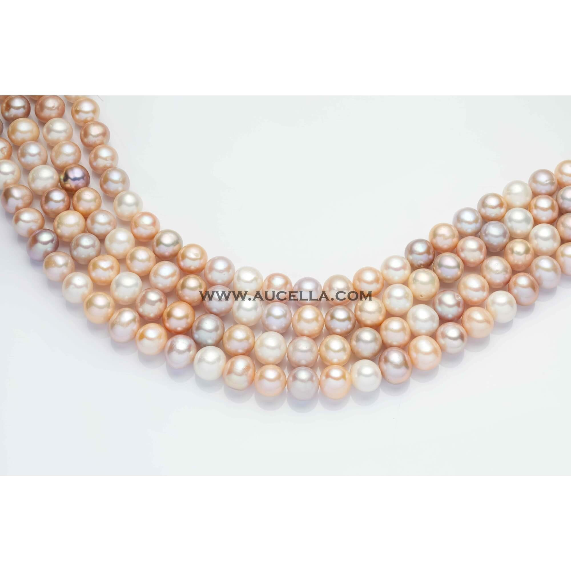 Fresh water pearls beads shape mm 10 - 11