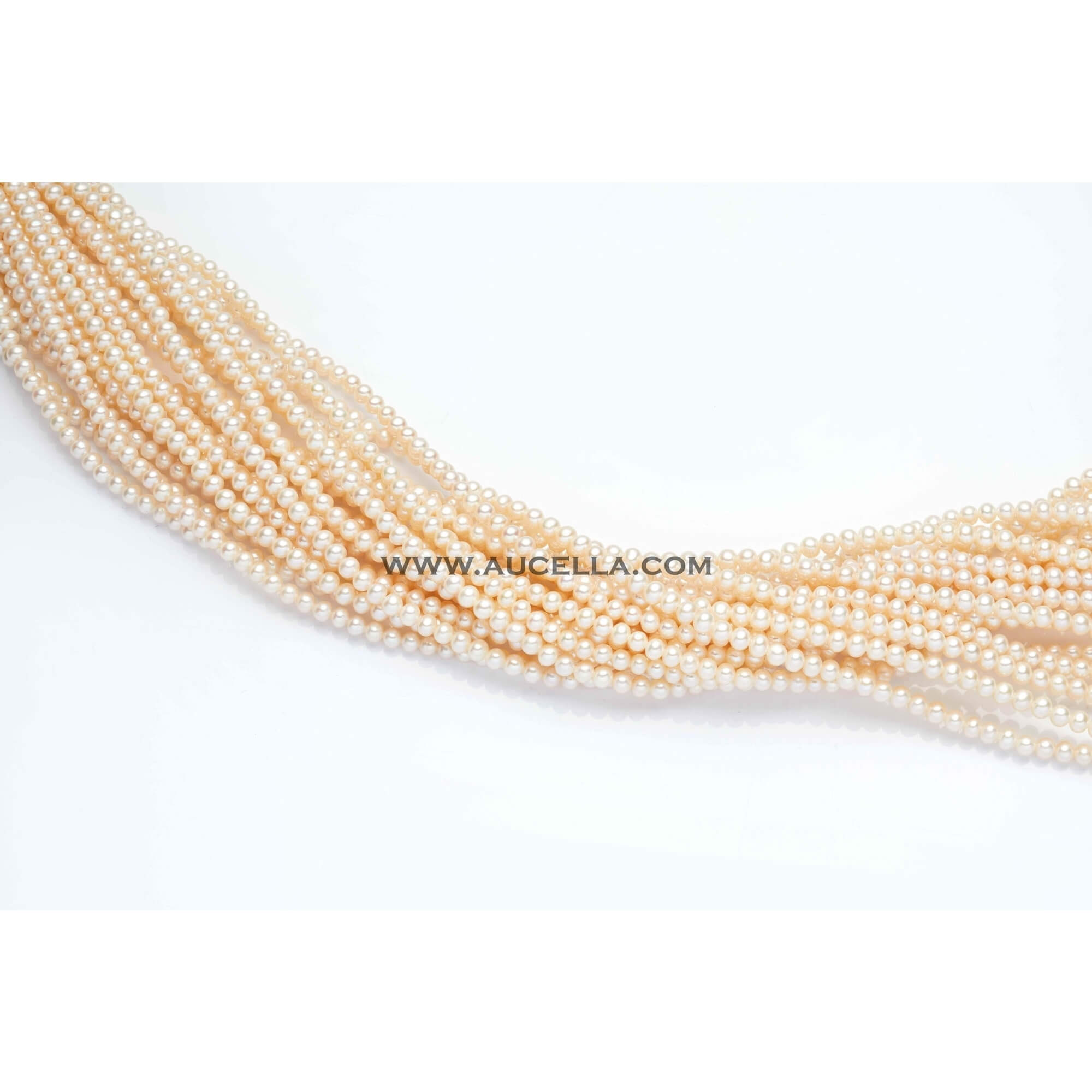 Fresh water pearls beads shape mm 7 - 8