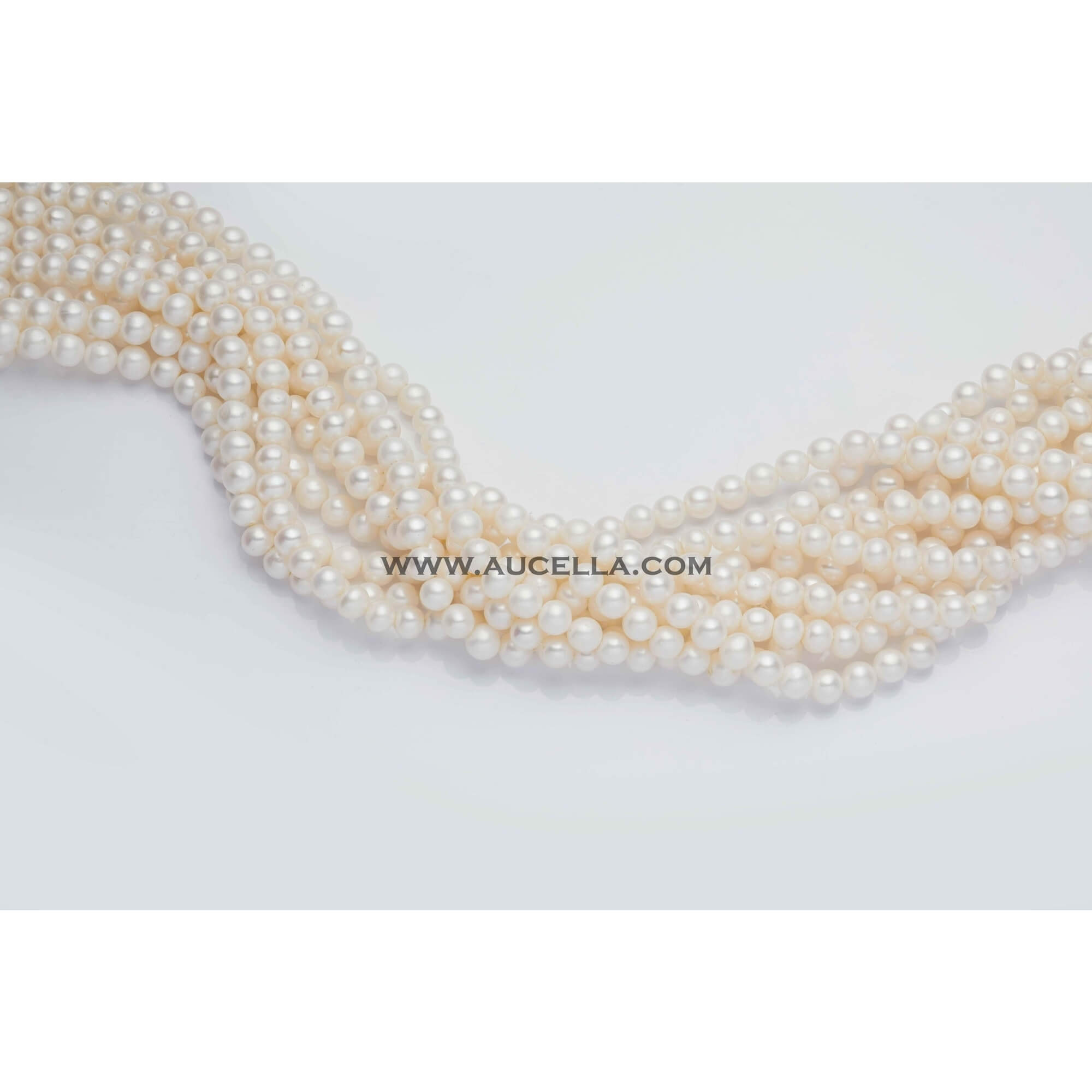 Fresh water pearls semiround mm 6