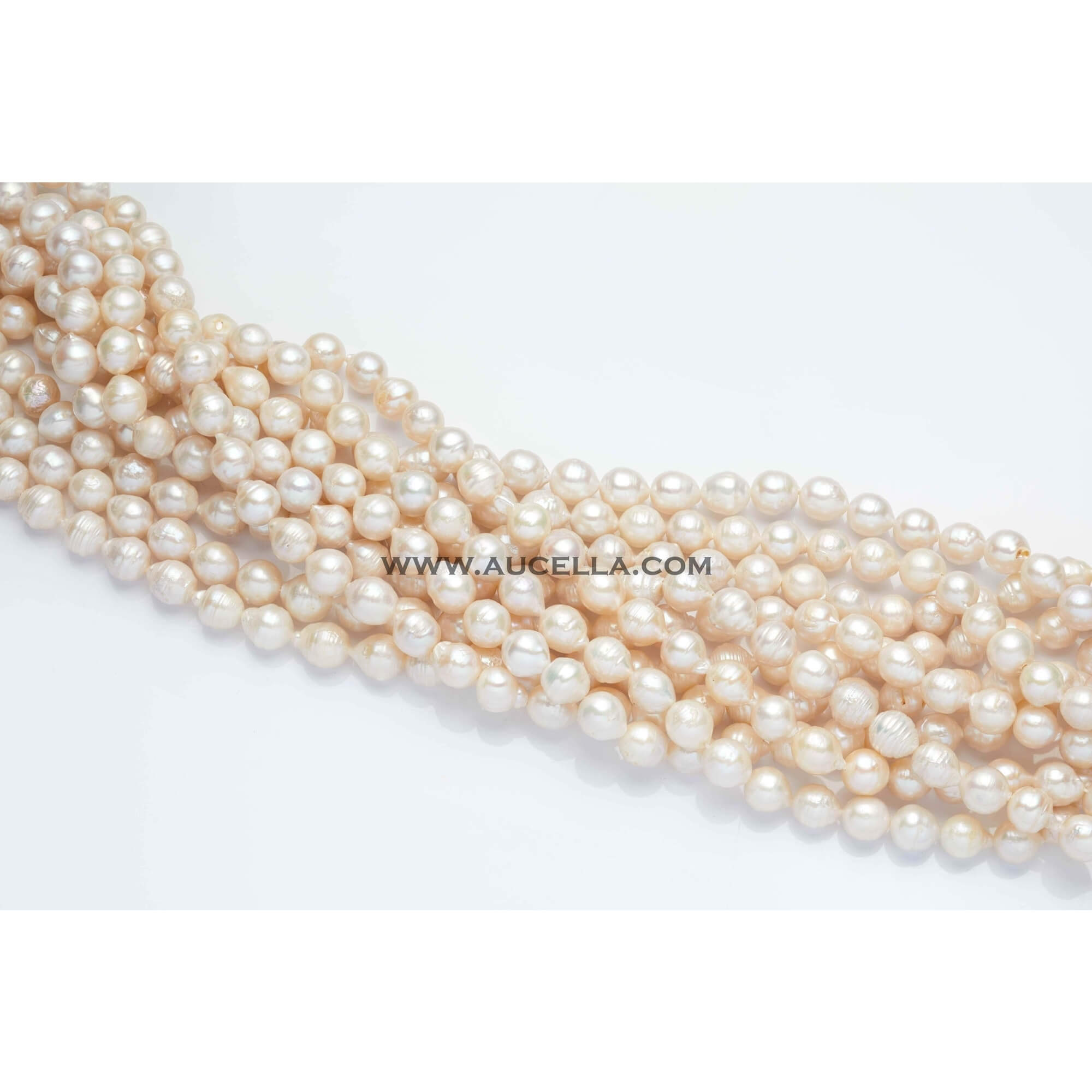 Fresh water pearls small size baroque